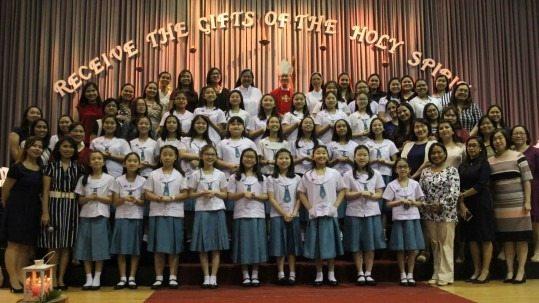 Grade 6 Receives the Sacrament of Confirmation
