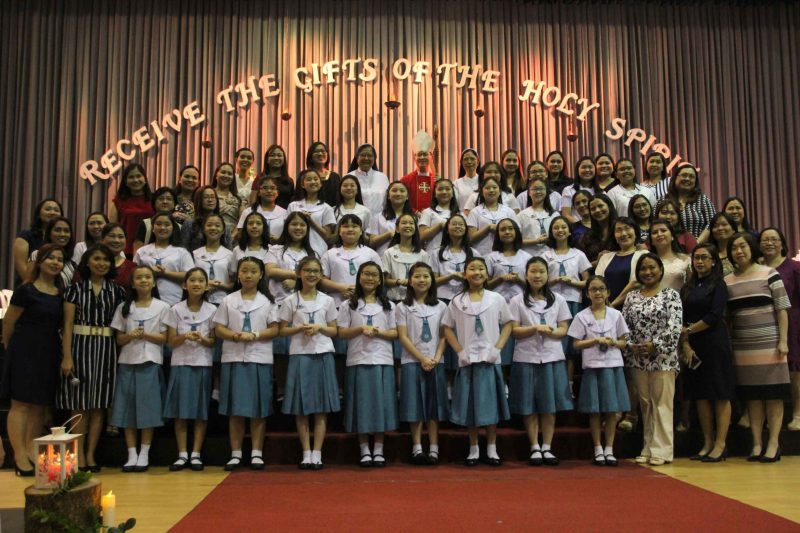Grade 6 Receives the Sacrament of Confirmation